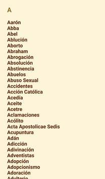 Diccionario Católico screenshot 5