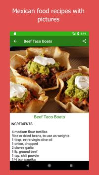 Mexican Food Recipes screenshot 2
