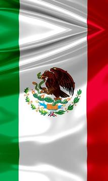 mexican flag wallpaper poster