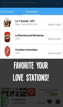 Mexico Radio Complete apk screenshot