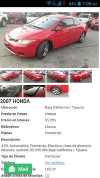 Autos Usados México apk screenshot