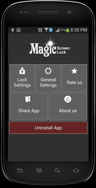magic screen lock lite apk ダウンロード 無料 ツール アプリ android