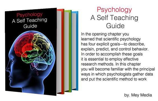 Psychology A Self Teaching Guide poster