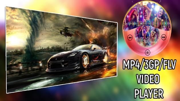 3GP/MP4/FLV HD Video Player poster