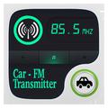 Fm Transmitter - Phone To Car white Radio Fm