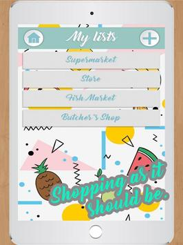 Grocery Lists  Make Shopping Simple and Smart screenshot 2