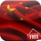 Flag of China Live Wallpaper icon