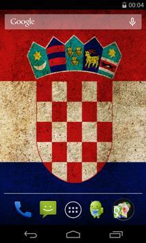 Flag of Croatia apk screenshot