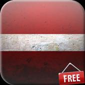 Flag of Latvia Live Wallpaper icon
