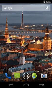 Flag of Latvia Live Wallpaper apk screenshot