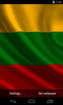Flag of Lithuania poster