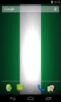 Flag of Nigeria Live Wallpaper apk screenshot