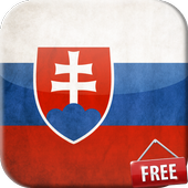 Flag of Slovakia Live Wallpaper icon