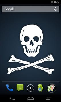 Flag of Pirates Live Wallpaper apk screenshot