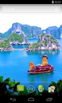 Flag of Vietnam Live Wallpaper screenshot 2