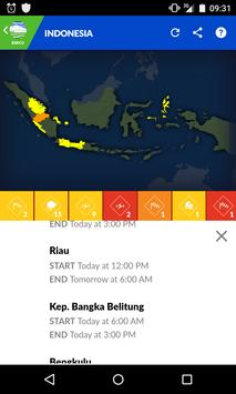 Informasi Cuaca Indonesia apk screenshot