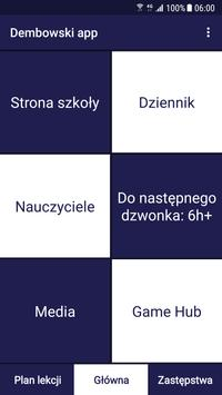 Dembowski app poster