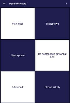 Dembowski app - I LO w Zielonej Górze apk screenshot