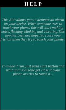 Don't touch it apk screenshot