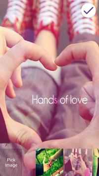 Together forever love poster