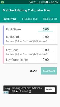 Matched Bet Calculator Free poster
