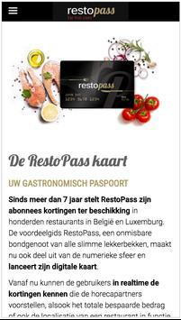 RestoPass NL screenshot 3