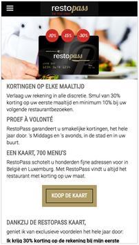 RestoPass NL poster