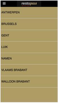 RestoPass NL screenshot 1