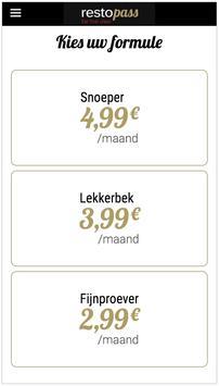 RestoPass NL screenshot 2