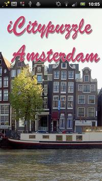 Sliding Puzzle Amsterdam poster