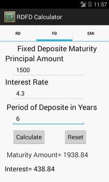 RDFD Calculator apk screenshot