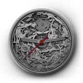 Mechanical Analog Clock Live Wallpaper icon