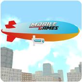 Majestic Zeppelin Flight 3D icon