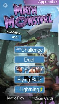 MathMonsterz Math Fun for Kids poster