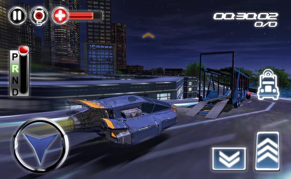 Modern Hover Car Transporter apk screenshot