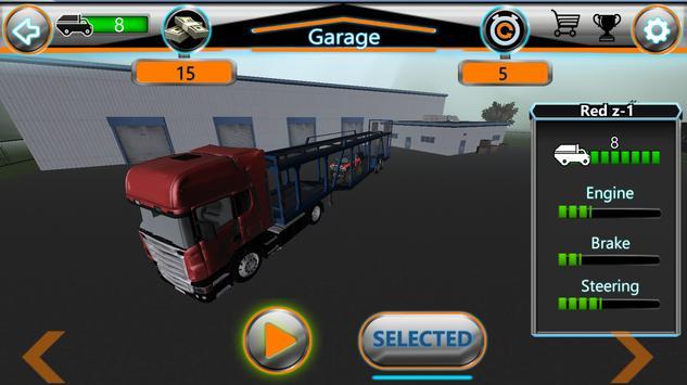 Monster Truck Jam Transport 3D apk screenshot