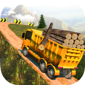 Mountain Cargo Truck Driver icon