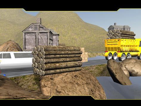 Mountain Cargo Truck Driver apk screenshot