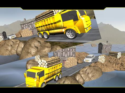 Mountain Cargo Truck Driver apk screenshot