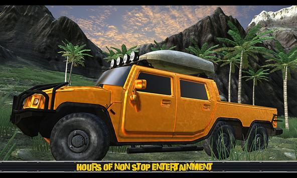 Off Road 6x6 Truck Driver 2017 apk screenshot
