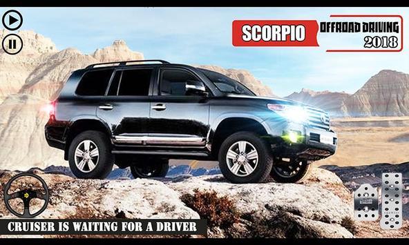 Offroad Scorpio Car Driver: Car Racing Simulator 海报