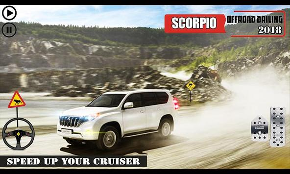 Offroad Scorpio Car Driver: Car Racing Simulator 截图 3