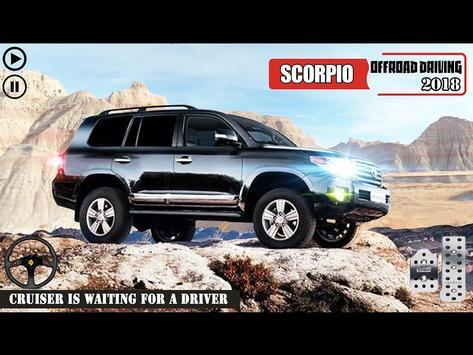 Offroad Scorpio Car Driver: Car Racing Simulator 截图 5