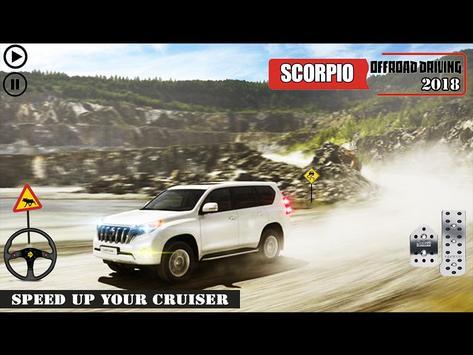 Offroad Scorpio Car Driver: Car Racing Simulator 截图 8
