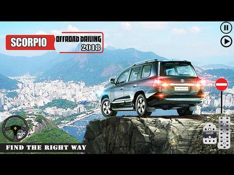 Offroad Scorpio Car Driver: Car Racing Simulator 截图 9