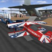 Aviation Plane Cargo Transport icon