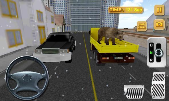 3D Animal Truck Simulator 2016 poster
