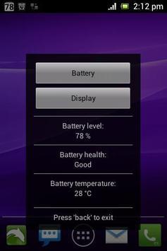 Simple Battery Widget apk screenshot