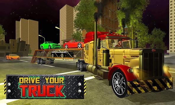 Car Transporter Big Truck poster