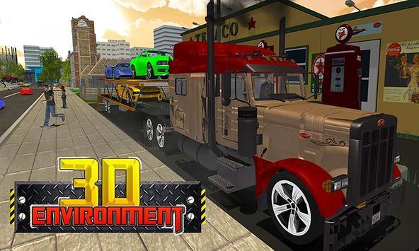 Car Transporter Big Truck screenshot 2